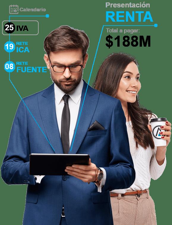 Contaduria y presentación de impuestos para compañias